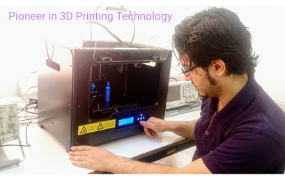 MAE department is one of the pioneers in 3D printing technology