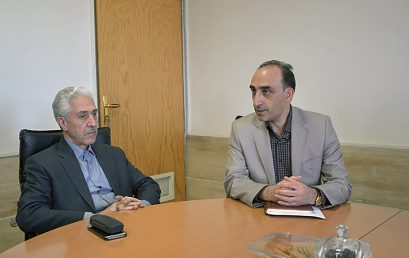 Minister of Science Research and Technology visited Shiraz University of Technology