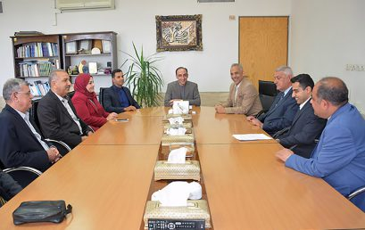 Delegates from Universities in Basrah Province Visited Shiraz University of Technology