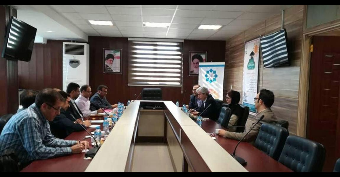Signing MoU between National Brain Mapping Lab and Shiraz University of Technology, Shiraz University of Medical Sciences and Shiraz University