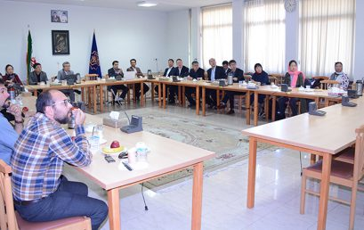 Delegates from Chinese Academy of Sciences visited Shiraz University of Technology