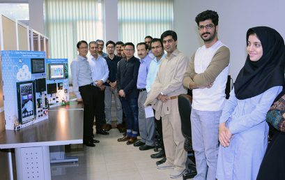 Opening Internet of Things Lab in Shiraz University of Technology