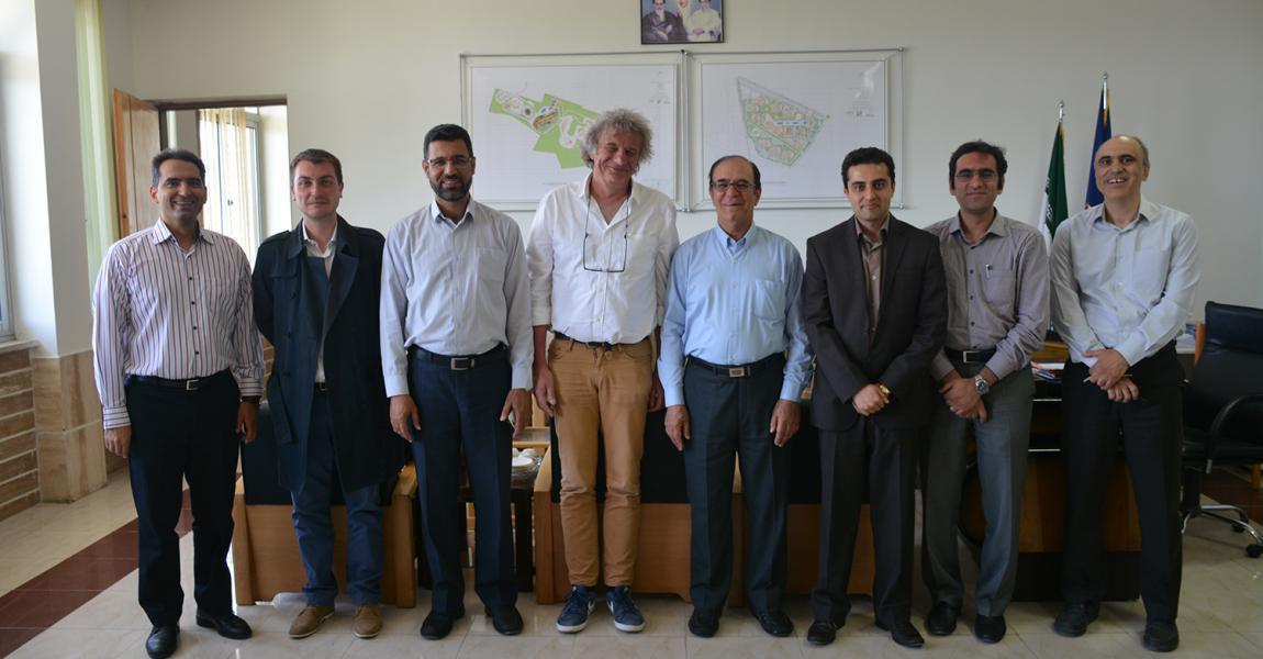 Picardie Jules Verne University delegates visited Shiraz University of Technology