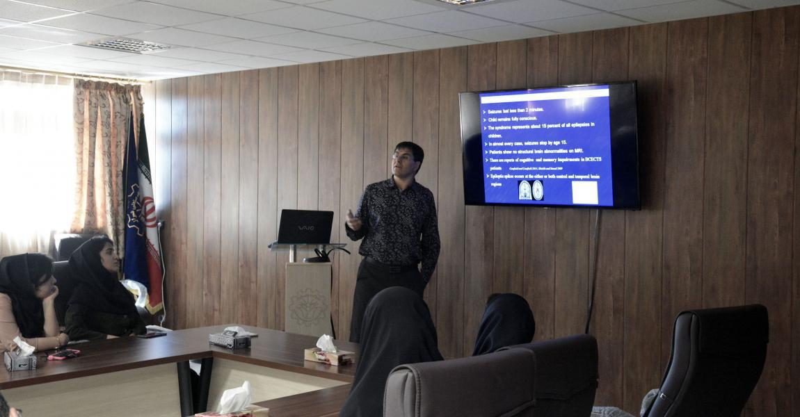 Presentation of Dr. Aarabi at the department of Electrical and Electronics Engineering