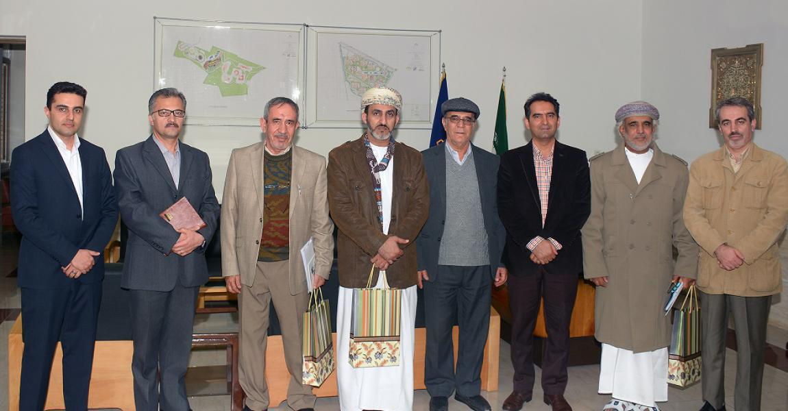 Delegates from Sohar University in Sultanate of Oman visited Shiraz University of Technology